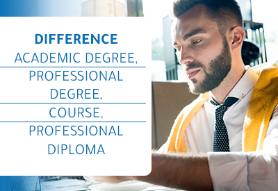 Different Professional Degrees